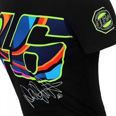 Vr46 Offiziell Valentino Rossi Marineblau Damen T Shirt Vrwts