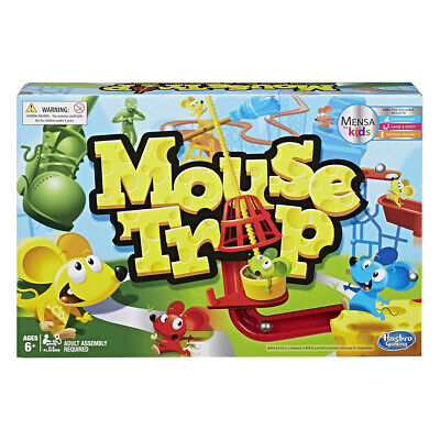 Mouse Trap Board Game - The Crazy Game with 3 Action Contraptions 2