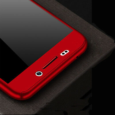 For Samsung Galaxy J4 J6 Plus J8 / J3 J5 J7 Pro Full Cover Case + Tempered Glass 7