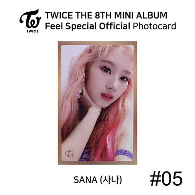 TWICE - 8th Mini Album Feel Special Official Photocard - SANA 6