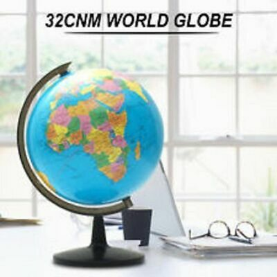 32cm World Globe Swivel Stand Rotating Geography Educational Student Kids Gift 6
