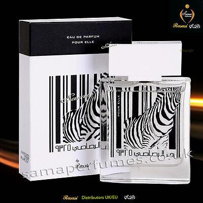 Rumz Al Rasasi 9325 Zebra Women 50ml Rasasi Uk Eu Official Distr