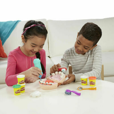 Play-Doh Doctor Drill n Fill Play Set - Dr / Dentist Play Dough Playset - NEW 5