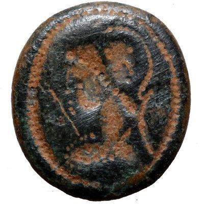 Scarce Roman Seal Head Of Ring Depicting Emperor Crispus Caesar Circa 317-326 Ad 2