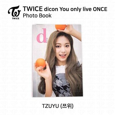 TWICE x dicon You Only Live ONCE Card Photo Book Postcard Tzuyu KPOP K-POP 2