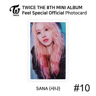 TWICE - 8th Mini Album Feel Special Official Photocard - SANA 11