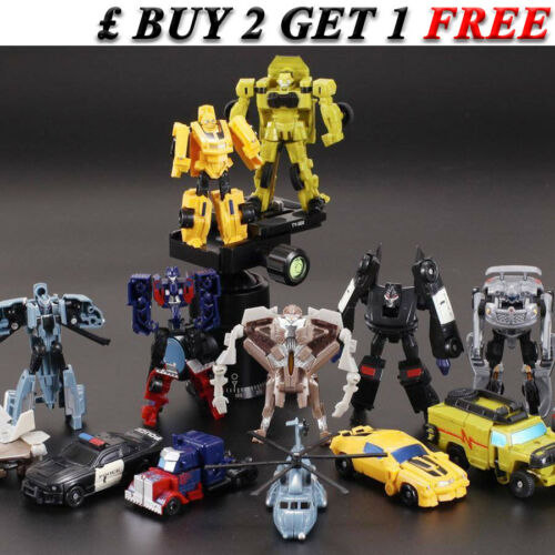 Transformers Toys Action Figures Optimus Prime Robots Cars Megatron Kids Gift 2
