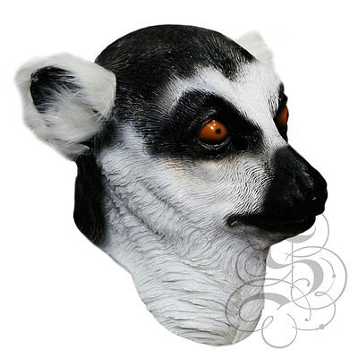 Woodland Halloween Hen Stag Props Party Latex Animal BADGER Head Party Mask