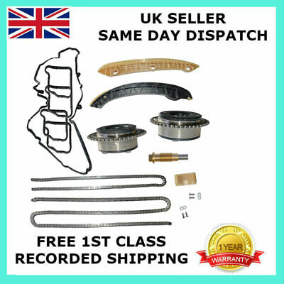 For Mercedes-Benz M271 1.8L Petrol Engines Timing Chain Kit + Camshaft Adjusters 3