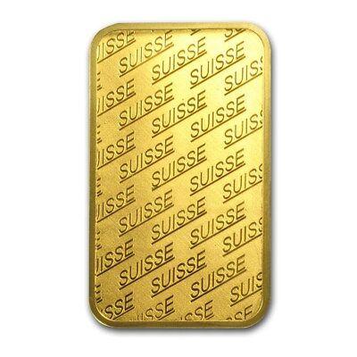 1 oz Gold Bar - PAMP Suisse New Design (In Assay) - SKU #86748 3