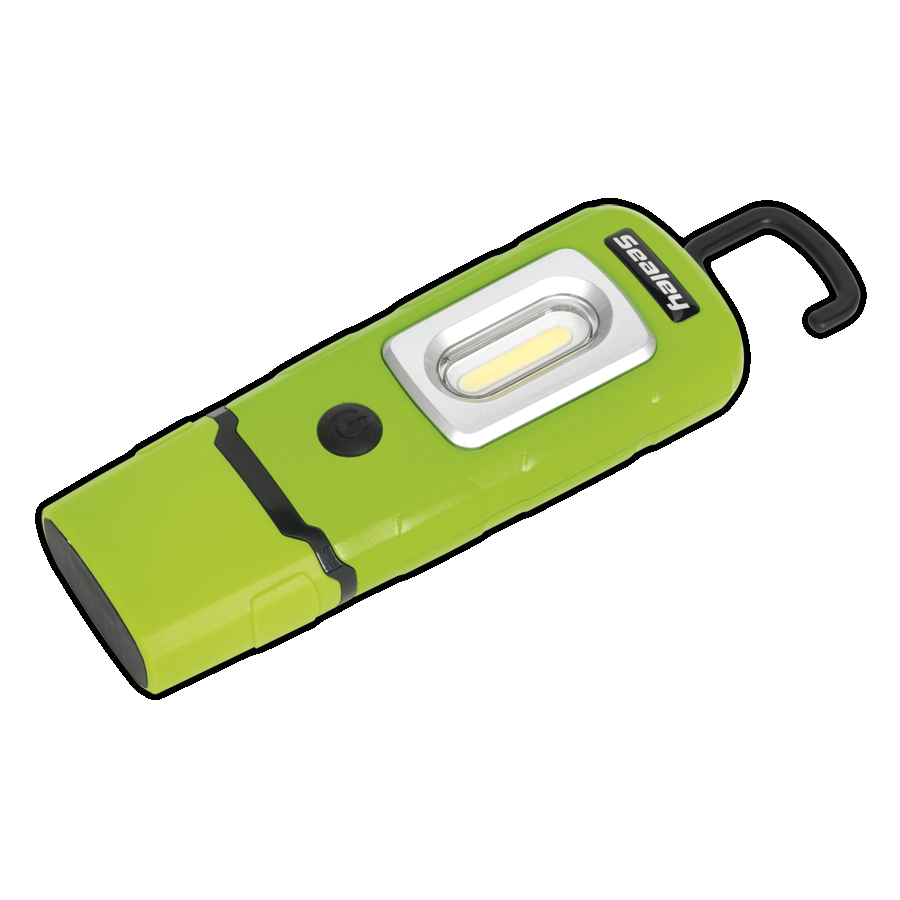 LED3601G Rechargeable 360* Inspection Lamp 2W COB LED Green Lithium-Polymer 8