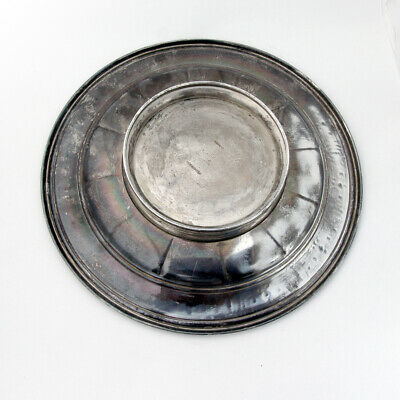 Wedgwood Footed Sandwich Plate International Sterling Pat 1924 4