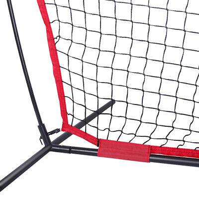 7x7Ft Bow Frame Baseball Softball Teeball Practice Batting Training Net W/Bag 7