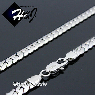 """18-40""""MEN Stainless Steel 3/4/5/6/8mm Silver Miami Cuban Curb Chain Necklace*155 3"""