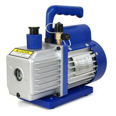 3,5 CFM Rotary Vane Vacuum Pump 1/4HP HVAC R134a Air Refrigerant Conditioning 3