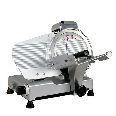 """Commercial Electric Meat Slicer 10"""" Blade 240w 530 rpm Deli Food cutter 2"""