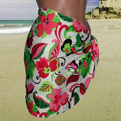 Triangel Bikini Neckholder + Pareo Bademode Strandmode S/M M/L L/XL in 4 Farben