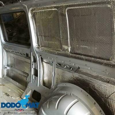 Sound Deadening Dodo Mat DEADN ® Hex 20 Sheets 20sq.ft Car Vibration Proofing 6
