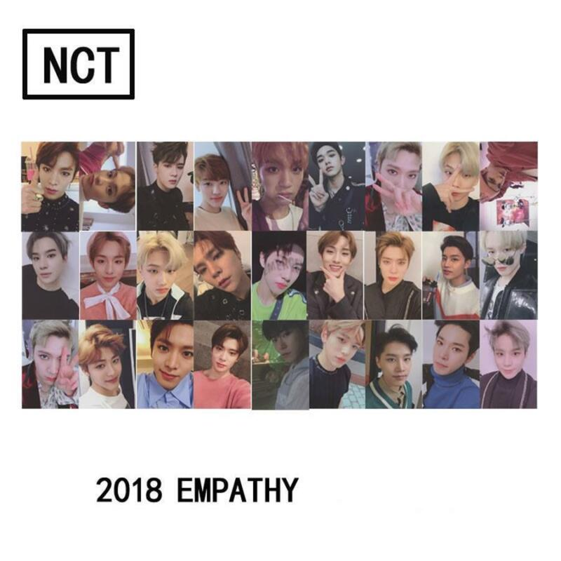 KPOP NCT 2018 Empathy Official Photocard Dream Ver. Reality Ver. Select Member 2