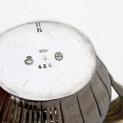Georg Jensen Cosmos 4 Piece Tea Coffee Set Sterling Silver 1930 Denmark 6