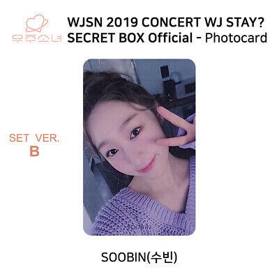 WJSN 2019 Concert WJ STAY Secret Box Official Photocard SET B KPOP K-POP 5