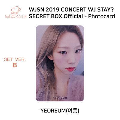 WJSN 2019 Concert WJ STAY Secret Box Official Photocard SET B KPOP K-POP 9