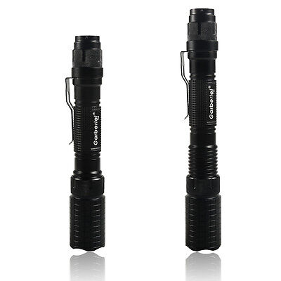 Tactical Police 990000Lumen T6 5Modes LED Flashlight Aluminum Torch Zoomable USA 6