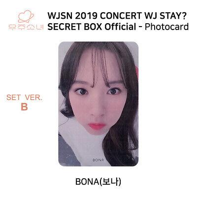 WJSN 2019 Concert WJ STAY Secret Box Official Photocard SET B KPOP K-POP 3
