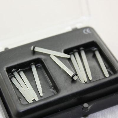 10 Pcs Dental Glass Fiber Post Thread Screw/Straight 1.0/1.2/1.4/1.6/1.8 Single 4