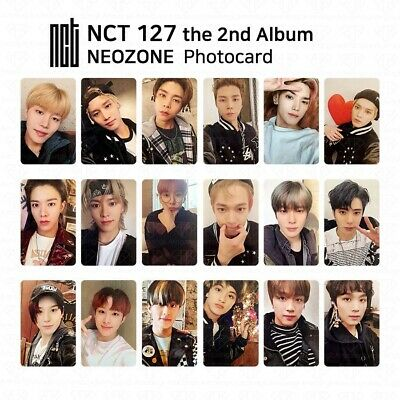NCT127 2nd Album NCT #127 NEO ZONE Official Photocard Circle card KPOP K-POP 8