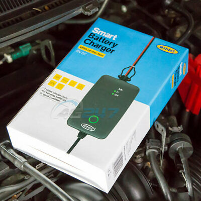 Ring RSC704 12v 4A Start/Stop Car Maintenance Automatic Smart Battery Charger 4