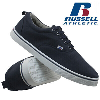 Mens Russell Athletic Trainers Casual Canvas Skates Pumps Shoes Plimsolls Size 3