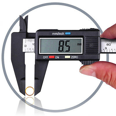 6inch 150mm LCD Digital Vernier Caliper Electronic Gauge Micrometer Measure Tool