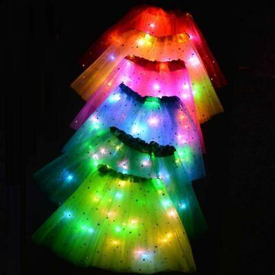 LED Tütü KINDER DAMEN Haarreif Tütü Kostüm Set Nikolaus Elf Rentier Weihnachten