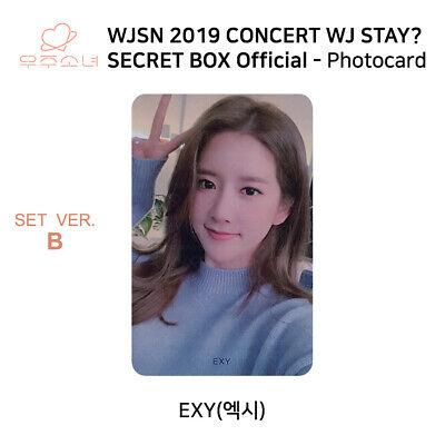 WJSN 2019 Concert WJ STAY Secret Box Official Photocard SET B KPOP K-POP 4