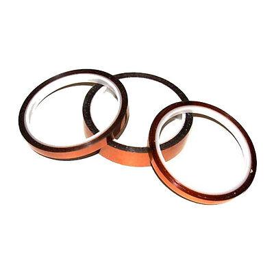 Heat Resistance Proof Tape 5pcs//pack USA 8mm x 100FT 3D Sublimation Kapton Tape