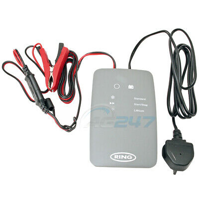 Ring RSC706 12v 6A 8 Stage Start/Stop Car 4x4 Maintenance Smart Battery Charger 4
