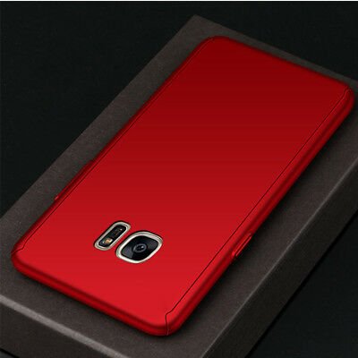 360° Full Cover Case + Tempered Glass For Samsung J3 J5 J7 Pro / J8 J6 J4 Plus 9