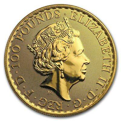 2019 Great Britain 1 oz Gold Britannia Coin BU - SKU #179986 2