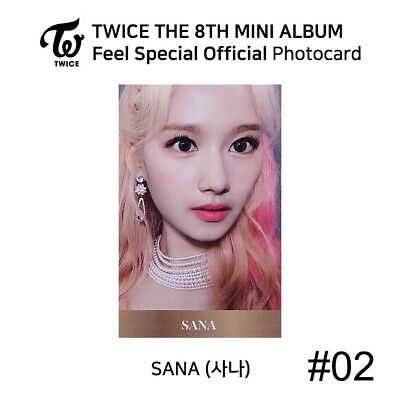 TWICE - 8th Mini Album Feel Special Official Photocard - SANA 3