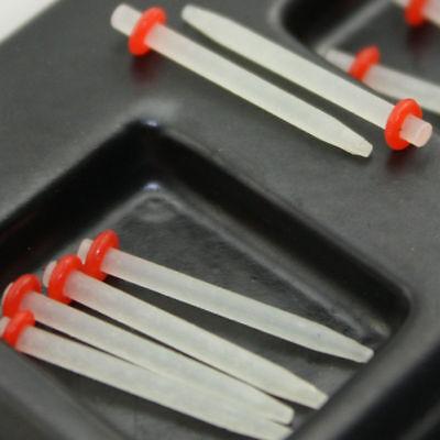 10 Pcs Dental Glass Fiber Post Thread Screw/Straight 1.0/1.2/1.4/1.6/1.8 Single 5