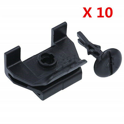 10 Sets Front Fender Bumper Cover Clip & Pin Kit For Toyota Camry Corolla Lexus 2