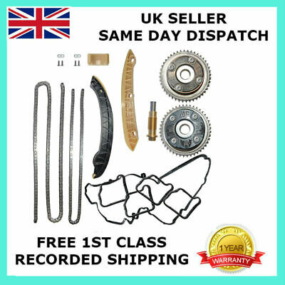 For Mercedes-Benz M271 1.8L Petrol Engines Timing Chain Kit + Camshaft Adjusters 2