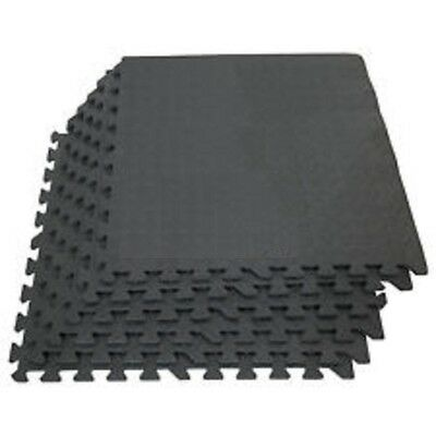 Exercise Mats Interlocking Eva Soft Foam Play Floor Gym Garage House Office Mat 3