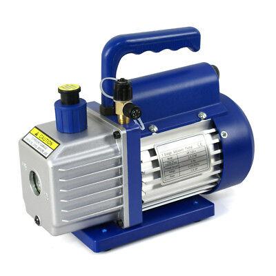 1/4hp Rotary Vane Deep Vacuum Pump 3.5CFM R410a R134 HVAC AC Refrigerant Charge 5