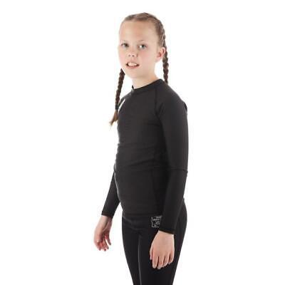 Tatami Kids Nova BJJ Spats Childrens MMA Jiu Jitsu Compression Tights Gym Black