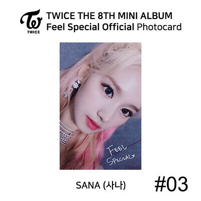 TWICE - 8th Mini Album Feel Special Official Photocard - SANA 4