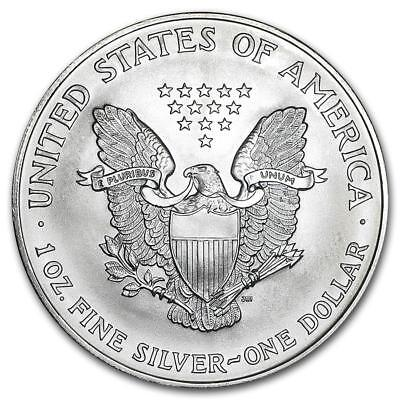 1997 Key Date Silver American Eagle BU 1 oz. Coin US $1 Dollar Uncirculated Mint 2