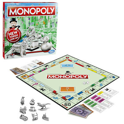 Monopoly Classic New Token Line Up - BRAND NEW 3