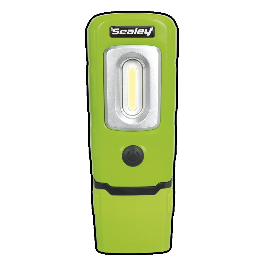 LED3601G Rechargeable 360* Inspection Lamp 2W COB LED Green Lithium-Polymer 3